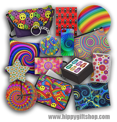 Hippy Gift Shop | Psychedelic Hippie Gifts – Funky retro gifts ...