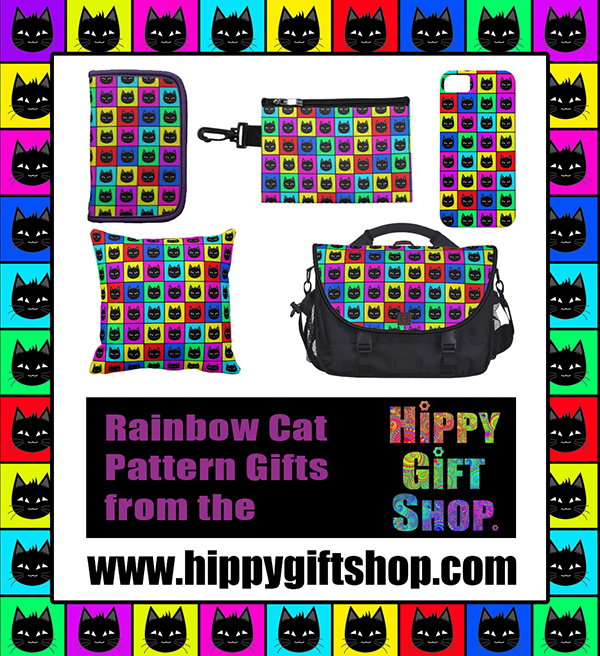 Rainbow Cat Pattern Gifts